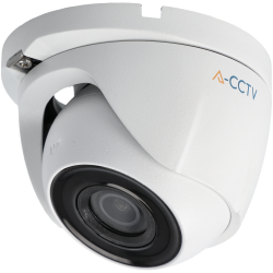A-CCTV minidome 4 in 1 (cvi, tvi, ahd and analog) camera of 2 megapixels and fix lens