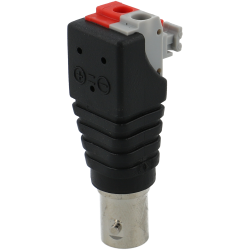 Bnc female with 2-way + / - output