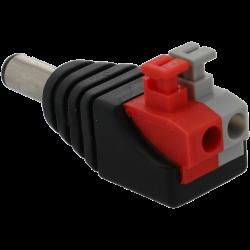 Dc male output + / - 2-terminal