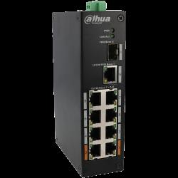 DAHUA  ports switch with  PoE ports