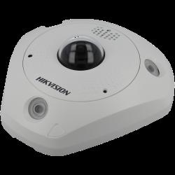 HIKVISION PRO fisheye ip camera of 12 megapíxeles and fix lens