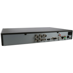 HIKVISION PRO 5 in 1 (hd-cvi, hd-tvi, ahd, analog and ip) recorder of 4 channel and 2 mpx maximum resolution