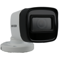 HIKVISION PRO bullet 4 in 1 (cvi, tvi, ahd and analog) camera of 8 megapíxeles and fix lens