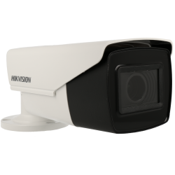 HIKVISION PRO bullet 4 in 1 (cvi, tvi, ahd and analog) camera of 8 megapíxeles and optical zoom lens