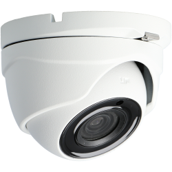 HIKVISION PRO minidome 4 in 1 (cvi, tvi, ahd and analog) camera of 5 megapixels and fix lens