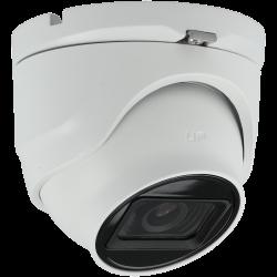 A-CCTV minidome 4 in 1 (cvi, tvi, ahd and analog) camera of 8 megapíxeles and fix lens