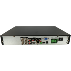 DAHUA 5 in 1 (hd-cvi, hd-tvi, ahd, analog and ip) recorder of 4 channel and 2 mpx maximum resolution