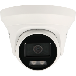HIKVISION minidome 4 in 1 (cvi, tvi, ahd and analog) camera of 2 megapixels and fix lens